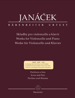 Works for Violoncello and piano JANACEK Partition laflutedepan