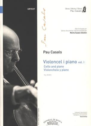 Violoncel y piano - Volume 1 Pablo Casals Partition laflutedepan