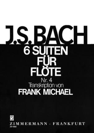 Suite Nr. 4 BWV 1010 Pour Flûte Seule 6 Suiten For Flöte Solo laflutedepan