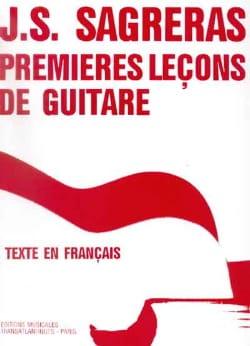 Premières leçons de guitare Julio S. Sagreras Partition laflutedepan