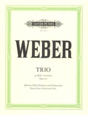 Trio g-moll op. 63 -Klavier Flöte Violoncello laflutedepan