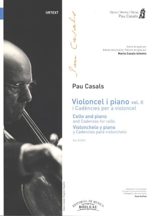Violoncel y Piano vol 2 I Cadencies per a violoncel laflutedepan