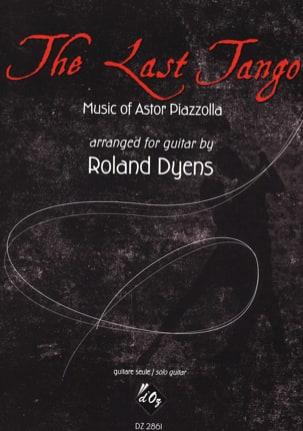 The Last Tango - Guitare Astor Piazzolla Partition laflutedepan
