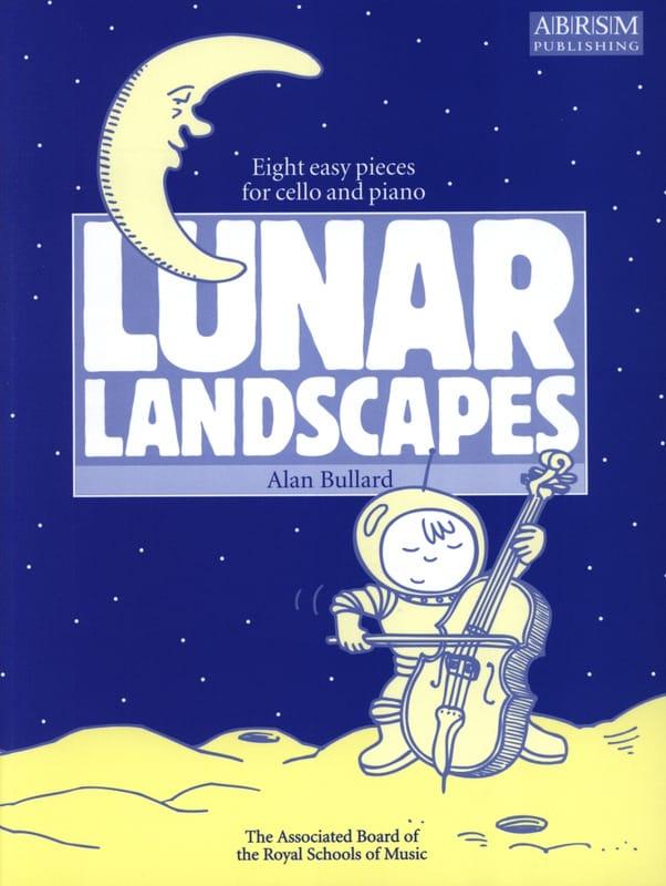Lunar Landscape - Alan Bullard - Partition - laflutedepan.com