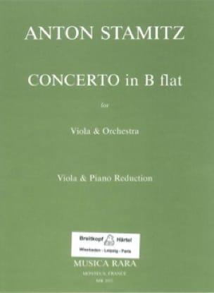 Concerto in B flat - STAMITZ - Partition - Alto - laflutedepan.com