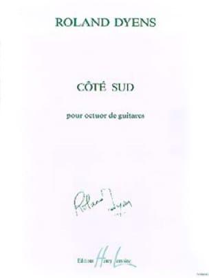 Côté Sud - Roland Dyens - Partition - Guitare - laflutedepan.com