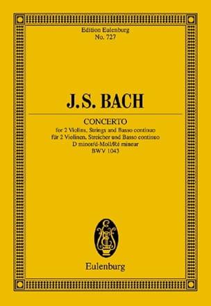 Konzert D-Moll, BWV 1043 BACH Partition Petit format - laflutedepan