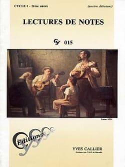 Lectures de notes - Cycle 1 - 2ème année - laflutedepan.com