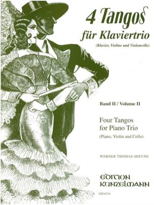 4 Tangos For Piano Trio, Volume 2 Werner Thomas-Mifune laflutedepan