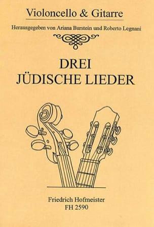3 Judische Lieder Partition 0 - laflutedepan