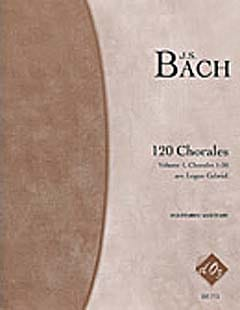 120 Chorales Volume 1 BACH Partition Guitare - laflutedepan