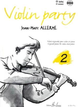 Violon Party Volume 2 - Jean-Marc Allerme - laflutedepan.com