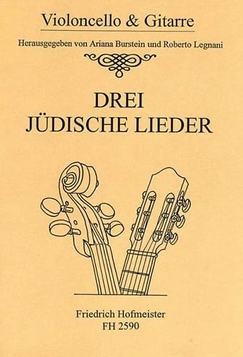 3 Judische Lieder - Partition - 0 - laflutedepan.com