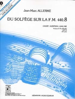 du Solfège sur la FM 440.8 - Chant Audition Analyse avec CD laflutedepan