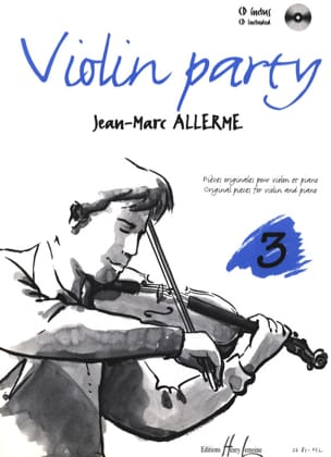 Violon Party Volume 3 Jean-Marc Allerme Partition laflutedepan