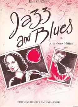 Jazz and Blues - 2 Flûtes Kate Cuzner Partition laflutedepan