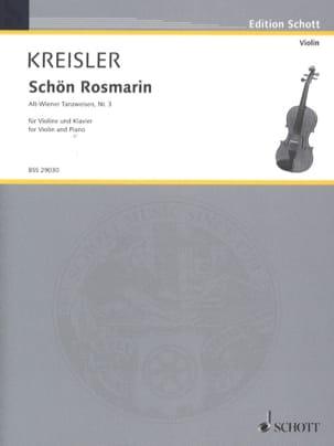 Schön Rosmarin KREISLER Partition Violon - laflutedepan