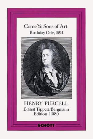 Come Ye Sons of Art 1694 - Score PURCELL Partition laflutedepan