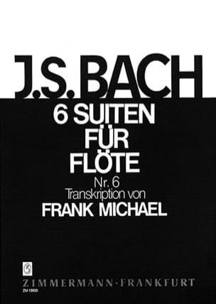 Suite Nr. 6 BWV 1012 Pour Flûte Seule 6 Suiten Für Flöte - laflutedepan.com
