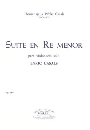 Suite para Violoncello Enric Casals Partition laflutedepan