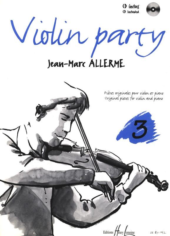 Violon Party Volume 3 - Jean-Marc Allerme - laflutedepan.com