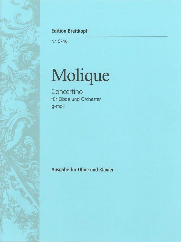 Concertino Pour Hautbois en Sol Mineur - laflutedepan.com