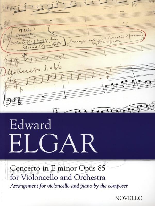 Concerto pour Violoncelle op. 85 - ELGAR - laflutedepan.com
