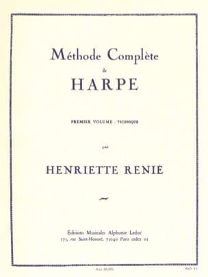 Methode de harpe -Volume 1 Henriette Renié Partition laflutedepan