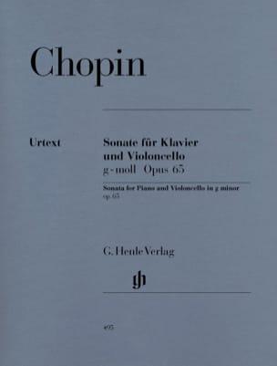 Sonate pour violoncelle en sol mineur op. 65 CHOPIN laflutedepan