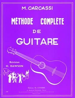 Methode Complete De Guitare Matteo Carcassi Partition laflutedepan
