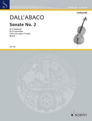 Sonate n° 2 en fa majeur Joseph Clemens Dall'Abaco laflutedepan