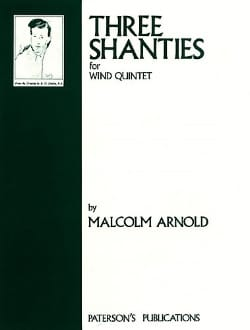 3 Shanties for wind quintet - Parts Malcolm Arnold laflutedepan