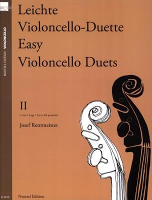 Leichte Violoncello Duette, Volume 2 Josef Rentmeister laflutedepan