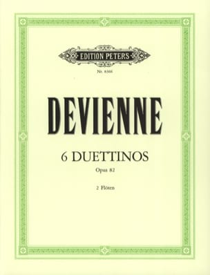 6 Duettinos op. 82 - 2 Flöten DEVIENNE Partition laflutedepan