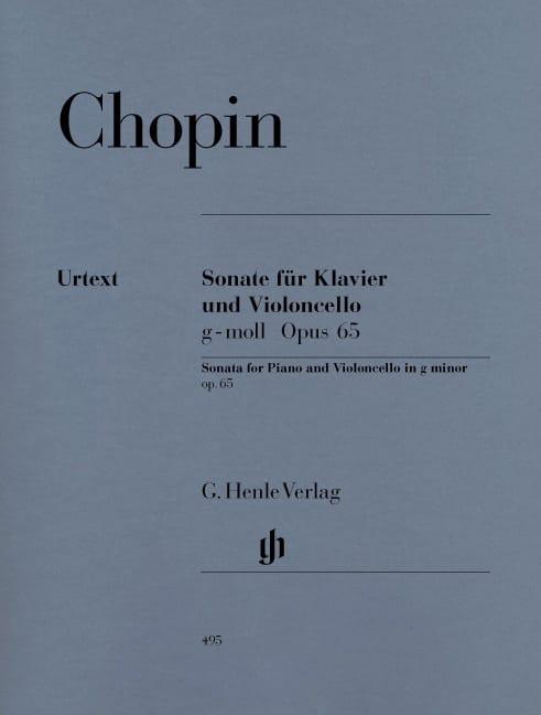 Sonate pour violoncelle en sol mineur op. 65 - laflutedepan.com