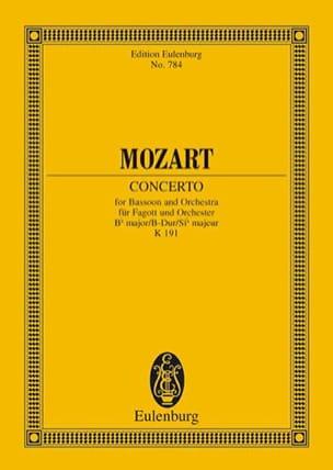 Concerto en Sib Majeur Pour Basson et Orchestre K 191 laflutedepan