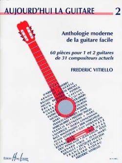 Aujourd'hui la guitare - Volume 2 Frédéric Vitiello laflutedepan