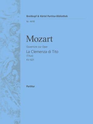 La Clemenza di Tito - Ouvertüre KV 621 - Partitur MOZART laflutedepan