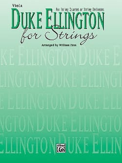 Duke Ellington For Strings - Conducteur et parties laflutedepan