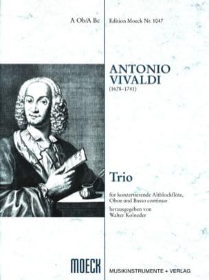 Trio -Flauto dolce Oboe BC - Partitur + 3 Stimmen laflutedepan