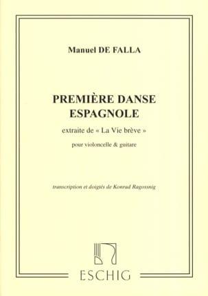 Première Danse Espagnole - Violoncelle et Guitare laflutedepan