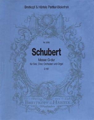 Messe G-Dur D 167 - Set - SCHUBERT - Partition - laflutedepan.com