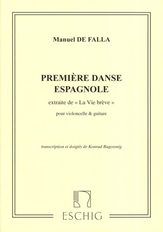 Première Danse Espagnole - Violoncelle et Guitare - laflutedepan.com