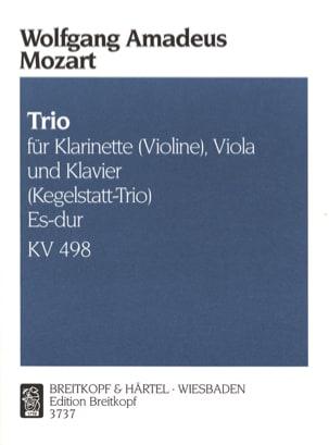 Trio Es-Dur KV 498 - Klarinette Violine Viola Klavier laflutedepan