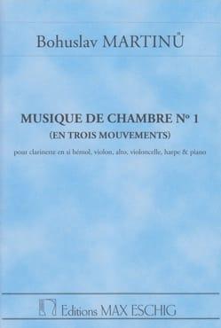 Musique de chambre n° 1 - Conducteur MARTINU Partition laflutedepan