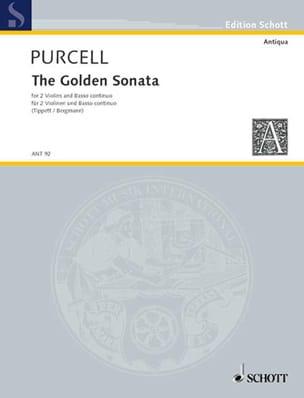 Die goldene Sonate PURCELL Partition Trios - laflutedepan