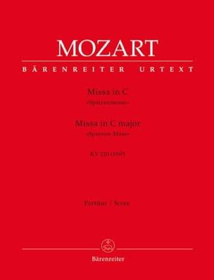 Missa C-Dur Spatzenmesse KV 220 - Partitur MOZART laflutedepan
