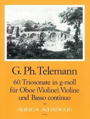 Triosonate Nr. 60 in g-moll -Oboe Violine Bc - laflutedepan.com
