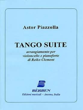 Tango Suite - Violoncelle et Piano Astor Piazzolla laflutedepan