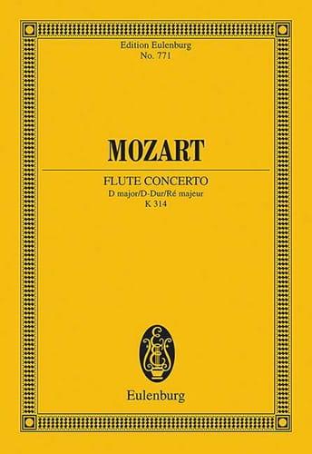 Flötenkonzert D-Dur KV 314 - Partitur - MOZART - laflutedepan.com
